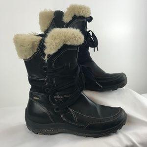 Merrell Primaloft Waterproof Black Leather Boots